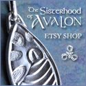 The Sisterhood of Avalon\'s Etsy Shop